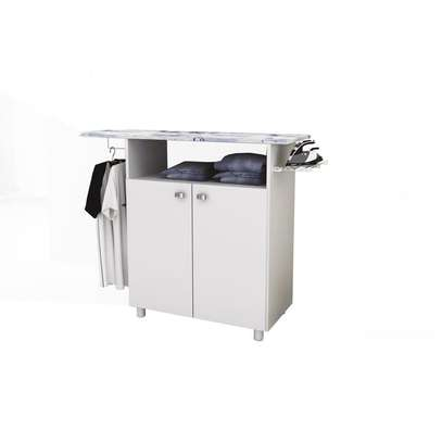 Ironing Board Cabinet with 2 Doors - Tecno Mobili , White image 1