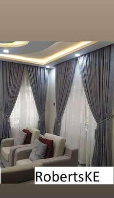 light grey curtain image 1