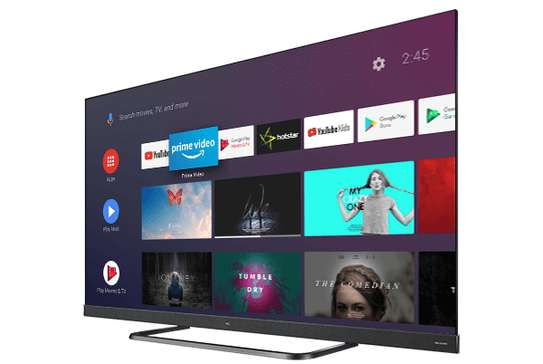 TCL 55 inch  4K UHD Al Android C8 TV image 1