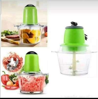 Multi~fuctional electric vegetable chopper &meat mincer image 1