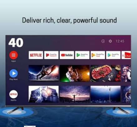 Tcl 40 inches smart Android frameless+bluetooth image 1