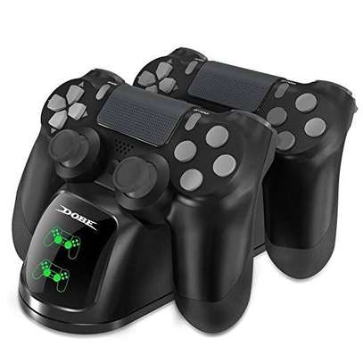 Dobe dual charging dock for ps4 pads image 1