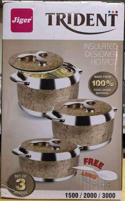 Trident hot pots /insulated hot pots image 2
