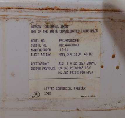 Gibson Heavy Duty Commercial Freezer image 9