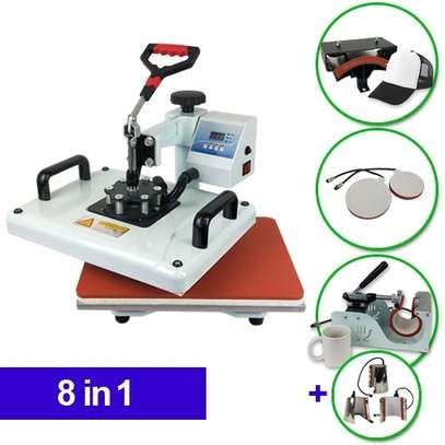 Dye Sublimation Combination Heat Press 8 in 1 image 1
