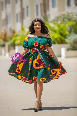 Ankara short dress