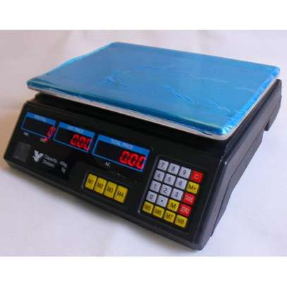 Digital Weighing Scale 30kg table top image 1