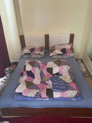 5*6 Bed and Mattress image 1