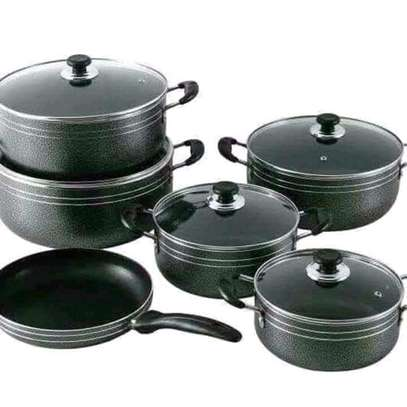 11 pieces Non stick cookware image 1