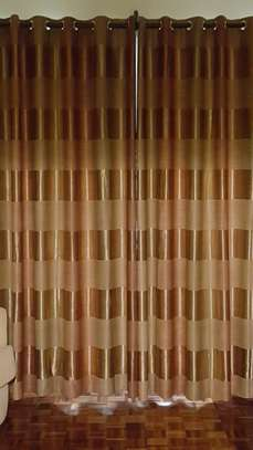 Curtains with sheers/net
