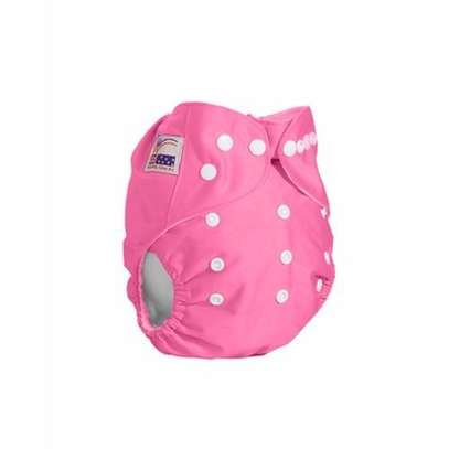 Washable Baby Diaper - Pink image 1