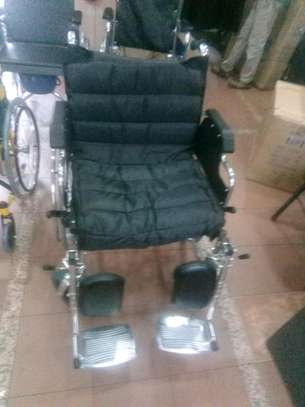 Extra wide wheelchair image 3