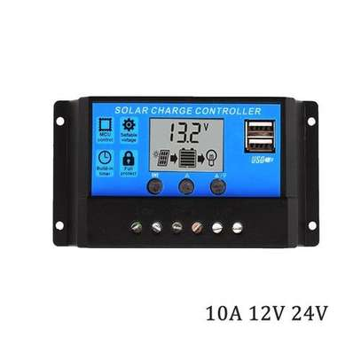Solarpex 10A 12V/24V Controller 100W 200W Regulator image 1