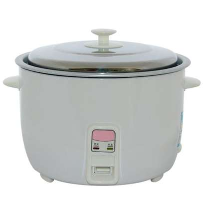 RICE COOKER+STEAMER 3.6 LITERS WHITE image 2