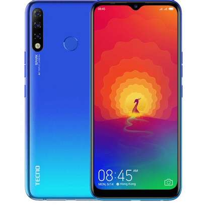 "Tecno Spark 4, 32GB + 2GB, KC8, 4G, 6.52"", Dual SIM, Vacation Blue image 1"
