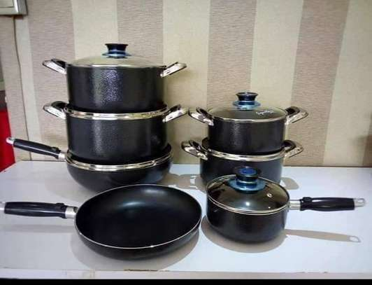 13 Pieces Signature Non Stick Cooking Pots image 1