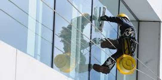 Facade/ Glass Cleaning Services..Professional & Very Affordable image 3