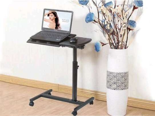 Moveable Sit Stand ADJUSTABLE LAPTOP Table image 4