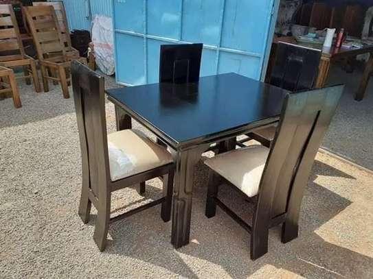 4 seater mahogany-made dining sets image 2