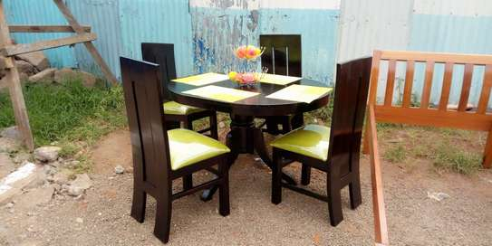 4 Seater Oval Table