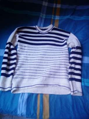 Round neck sweater image 1