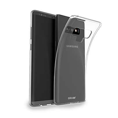 Clear TPU Soft Transparent case for Samsung Note 9 image 1