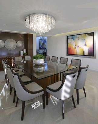Twelve seater modern dining table image 1