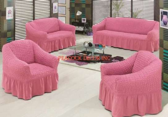Generic 1/2/3 Seater Home Soft Elastic Sofa Cover image 8