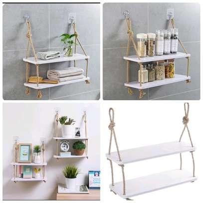 2 Layer Hanging Shelves image 1