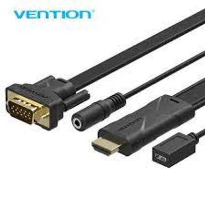 VENTION HDMI TO HDMI+VGA CONVERTER WITH AUDIO image 1