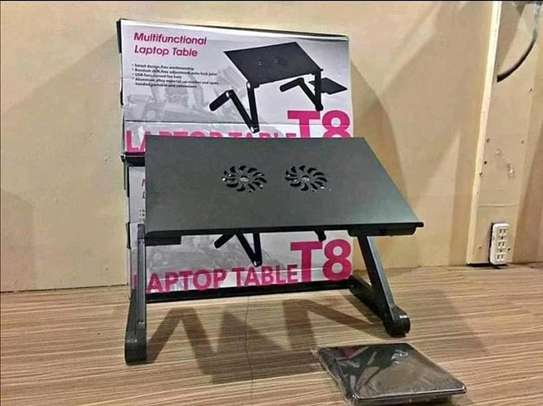 Multifunction laptop table stand image 1