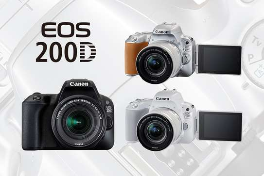 Canon EOS 200D 24.2MP 18-55mm Bluetooth NFC Wi-Fi image 2