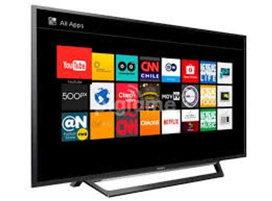 "Sony 32"" HD SMART TV, Wi-Fi, YOU-TUBE 32W600D-Black image 1"