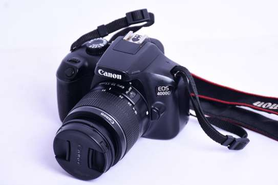 Canon 4000D + 18-55mm Lens Good As New image 1