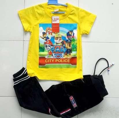 Matching Sweatpants and T-shirts image 1