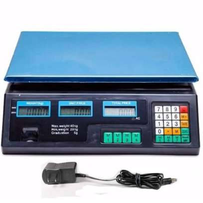 electronic digital Price Computing Scale 30KG 5G image 1