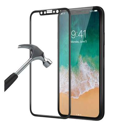 5D Full Coverage Tempered Glass Screen Protector for iPhone X/Xs iPhone XR iPhone XS Max image 5