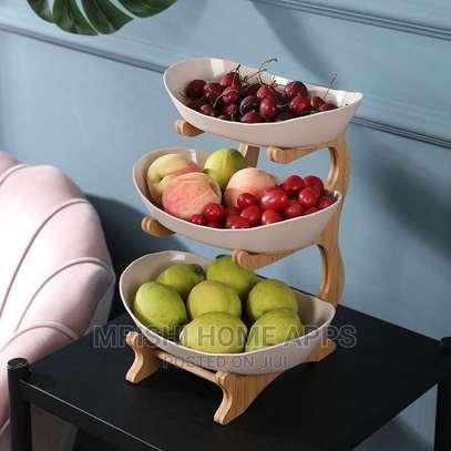3 Tier Wooden Fruit Rack image 2