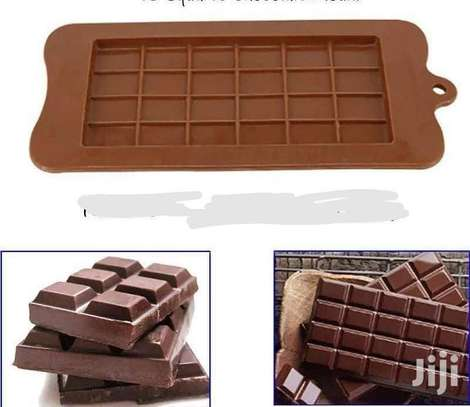 24 Square Chocolate Mould image 1
