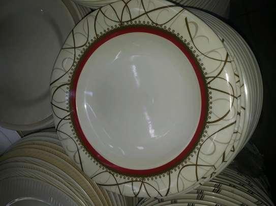 12pc Melamine dinner plates/Extra heavy melamine plate/12pc Plates image 4