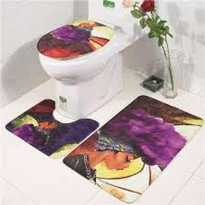 African themed bathroom mats image 4