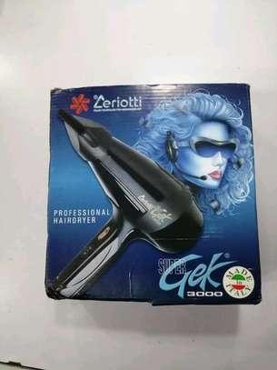 professional zeriotti hair dryer