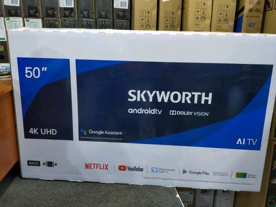 """Skyworth 50"""" 4K ULTRA HD ANDROID TV, NETFLIX, YOUTUBE PLAYSTORE 50Q20 image 2"""