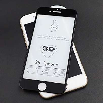 5D Full Coverage Tempered Glass Screen Protector for iPhone 6+ and iPhone 6s Plus image 3
