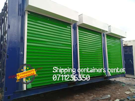 20ft Container stalls image 1