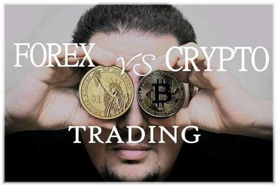 Crypto and forex training image 1