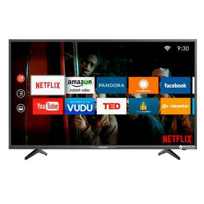Hisense 43 inches Smart Android TV FHD 1080p resolution. Series 7 image 1