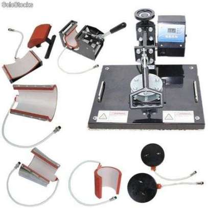 Combo Sublimation Machine 8 In 1 in stock right now. image 1