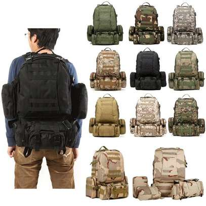 Military Bag 55L-Tactical Bag/Trekking/hiking/camping/Traveling bag image 1