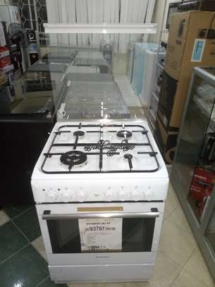 Ariston CX65SP1 Gas Cooker - White image 1